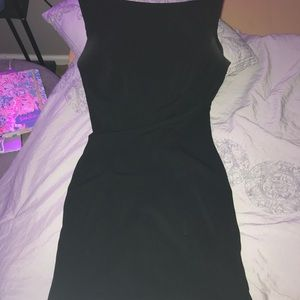 LBD with low cut back & bow